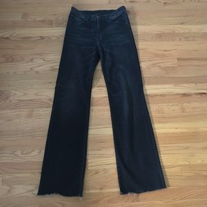 R13 Wide Leg Jeans